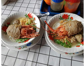 bakso lobster enak