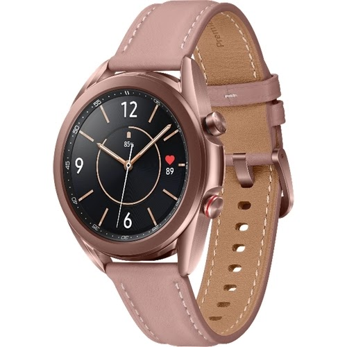 """Smartwatch Samsung Galaxy Watch3 41mm 1.2"""" - Bronze"""