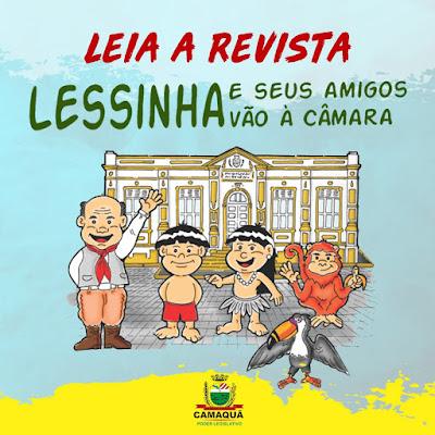 """REVISTA """"LESSINA E SEUS AMIGOS VÂO À CÂMARA"""""""