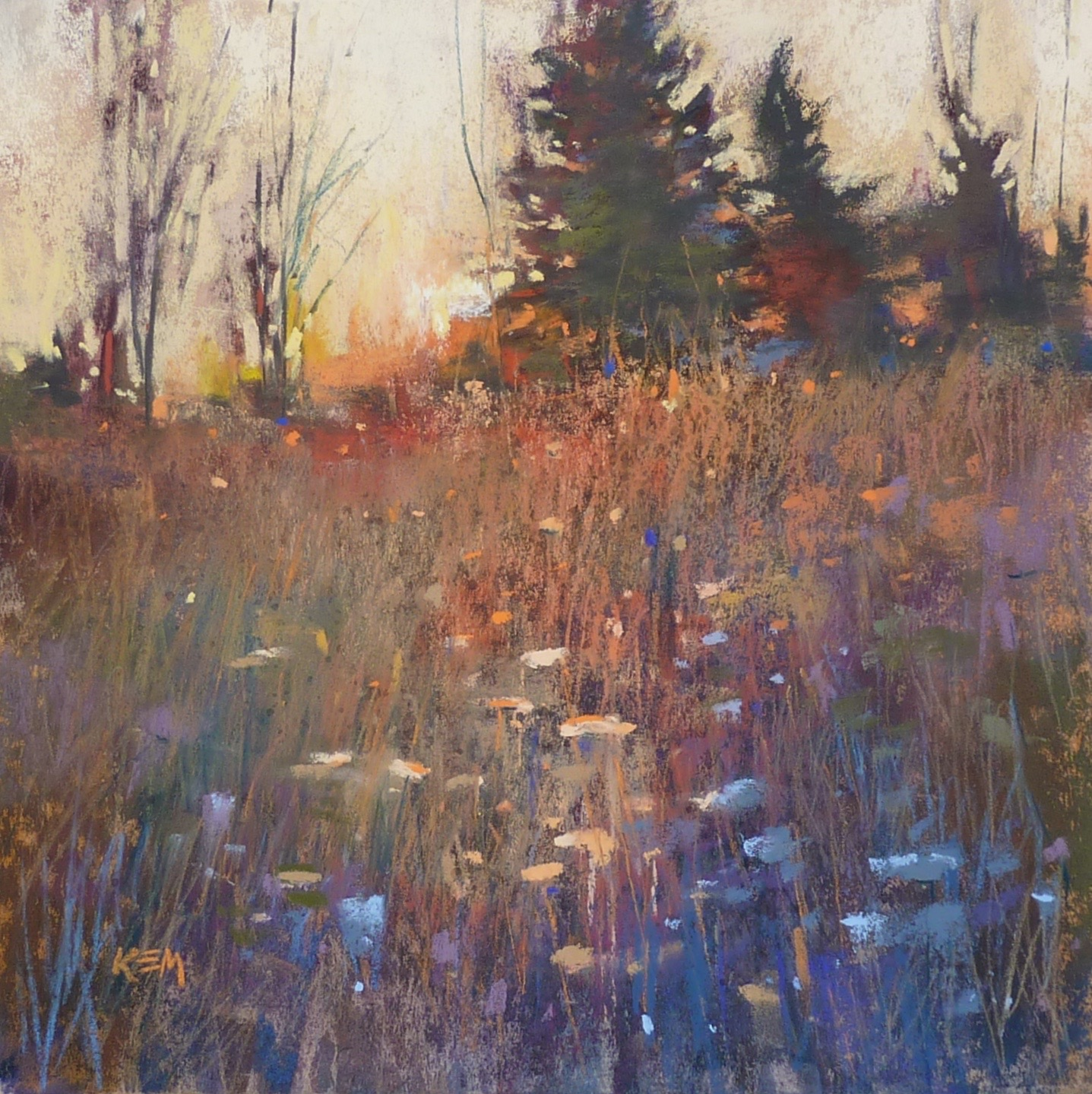 Painting: Painting My World: An Easy Tip For Finishing A Painting