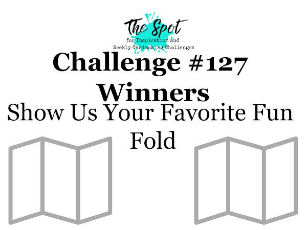 Challenge #127 Winner Announcement