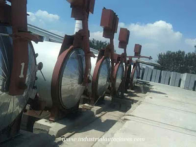 Qingdao AAC Plant Made an Order of Large Industrial Autoclaves