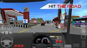 Download bus simulator indonesia di handphone
