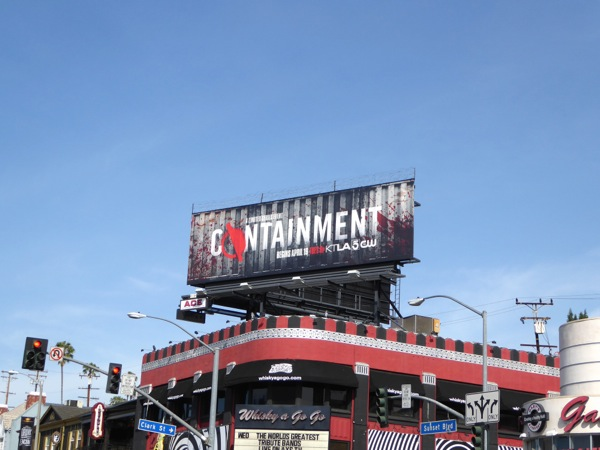 Containment series premiere billboard