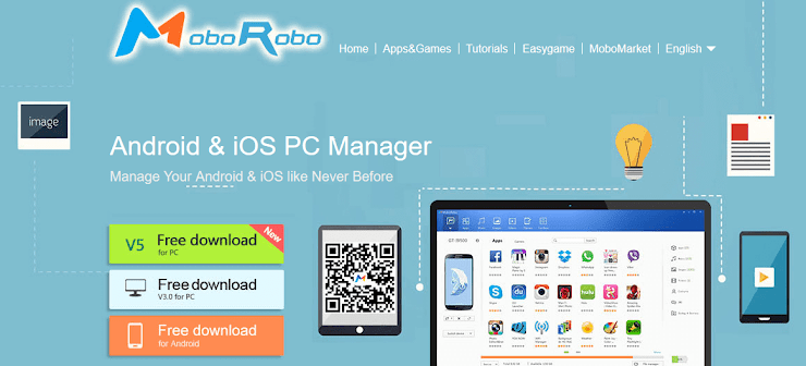 MoboRobo application for Android device management