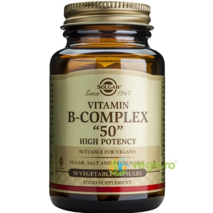 Vitamina B-50 Complex 50Cps SOLGAR