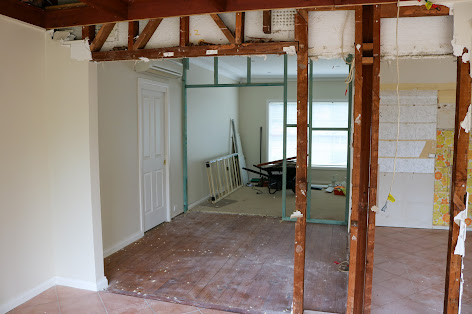 Kitchen Renovation with Structural Steel Beams