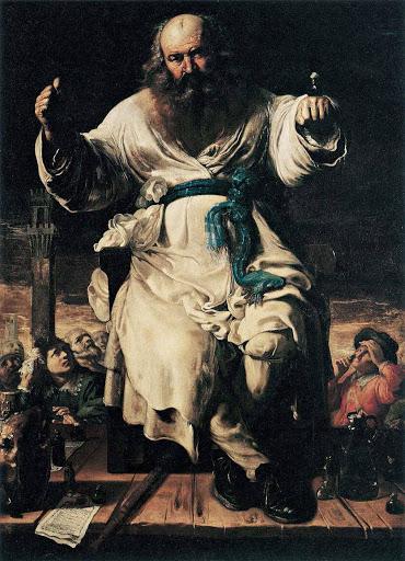 """""""Il ciarlatano"""" di Bernardino Mei"""