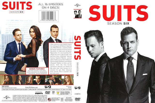 Suits Season 6 DVD Cover