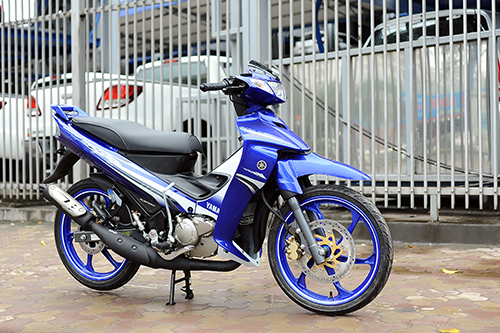 Hình ảnh Yamaha 125zr 2016 tại Sài Gòn