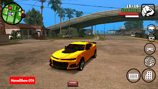 Camaro zl1 DFF Only GTA SA Android