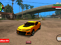 Chevrolet Camaro zl1 DFF Only GTA SA Android