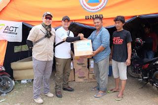 Ketua DPP AMPI Turun Langsung Untuk Membantu Korban Pasca Gempa Palu
