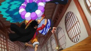 ワンピースアニメ991話 | .ルフィ ヤマト Yamato | ONE PIECE Beast Pirates