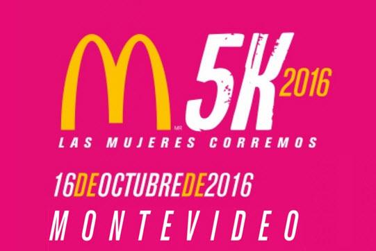 5k McDonald´s Las mujeres corremos (Montevideo, 16/oct/2016)