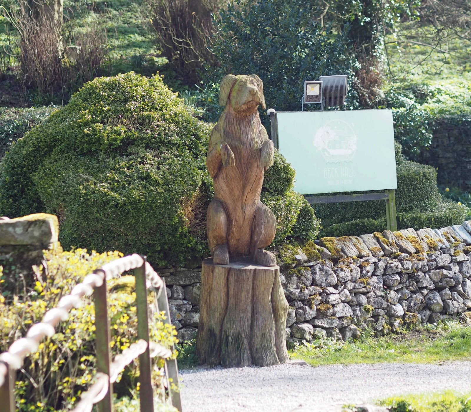 A review of Beck Hall Hotel and Bistro, Malham, Yorkshire Dales.