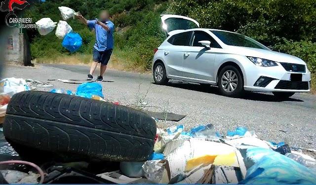COSENZA. Abbandono rifiuti ad Acri e Bisignano