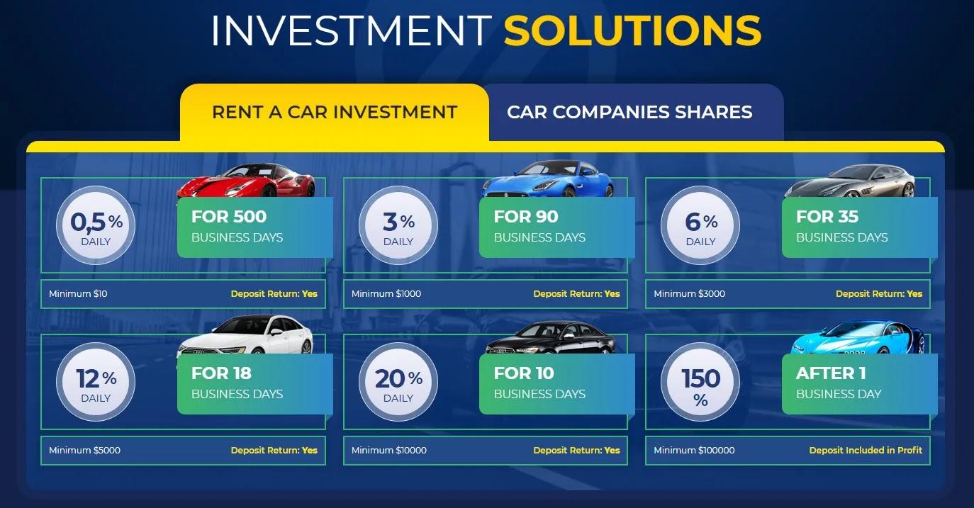 Инвестиционные планы Zeppelin Cars