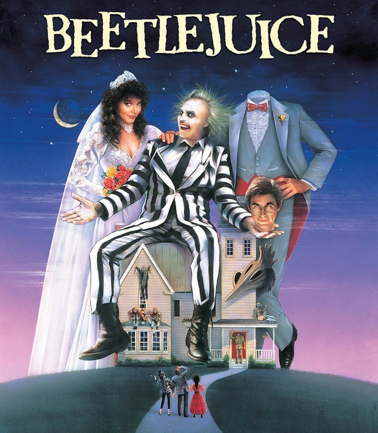 A Vintage Nerd, Classic Film Blog, Old Hollywood Blog, 1980s Movies,  Beetlejuice