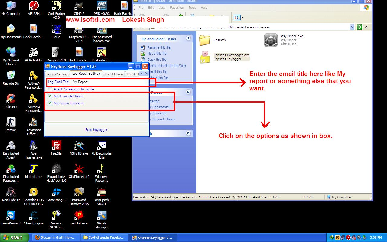 how to detect keylogger on computer