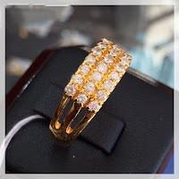 Jual Cincin Berlian 3 Susun