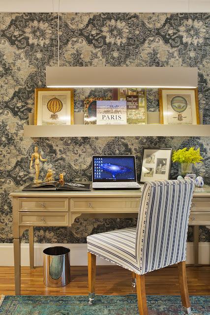 Blog Achados de Decoração. Home office clássico