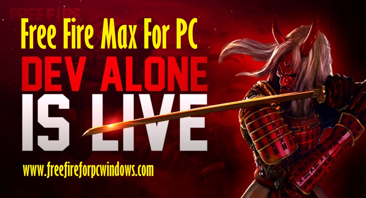 Garena Free Fire Max for PC