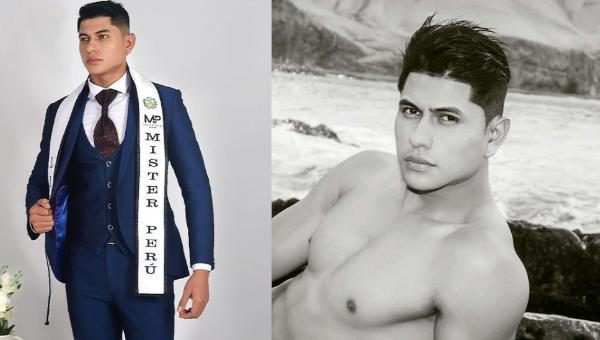 Wilsterman Rivasplata es Mister Perú Lima Sur 2019 / 2020