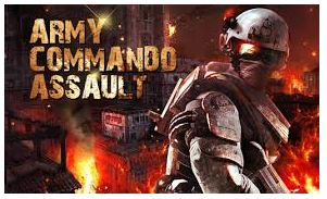 Army commando assault  Mod APK unlimited money V1.10