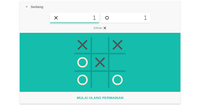 Tic Tac Toe Game Google