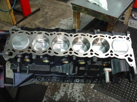 HYTECH ENGINES WORKSHOP BLOG: Nissan RB26DETT short block