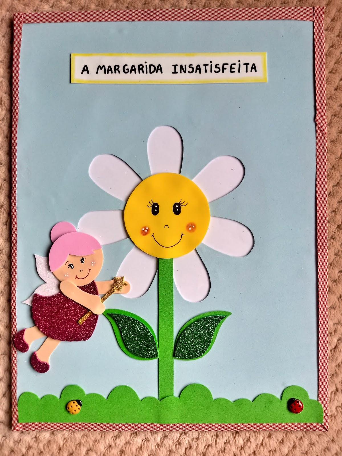 Aline Costa História No Envelope A Margarida Insatisfeita