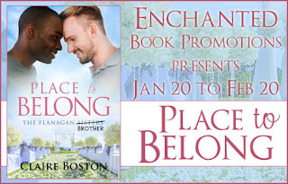 A place to belong by Claire Boston