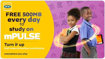 How to Get Free 500MB Data Daily on MTN MPulse, How To Get Free 500MB Daily on MTN MPulse, HOW TO ENJOY FREE MTN 500MB MPULSE DATA, How To Activate Free 500MB Daily On MTN Mpulse