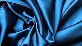 голубой шёлк