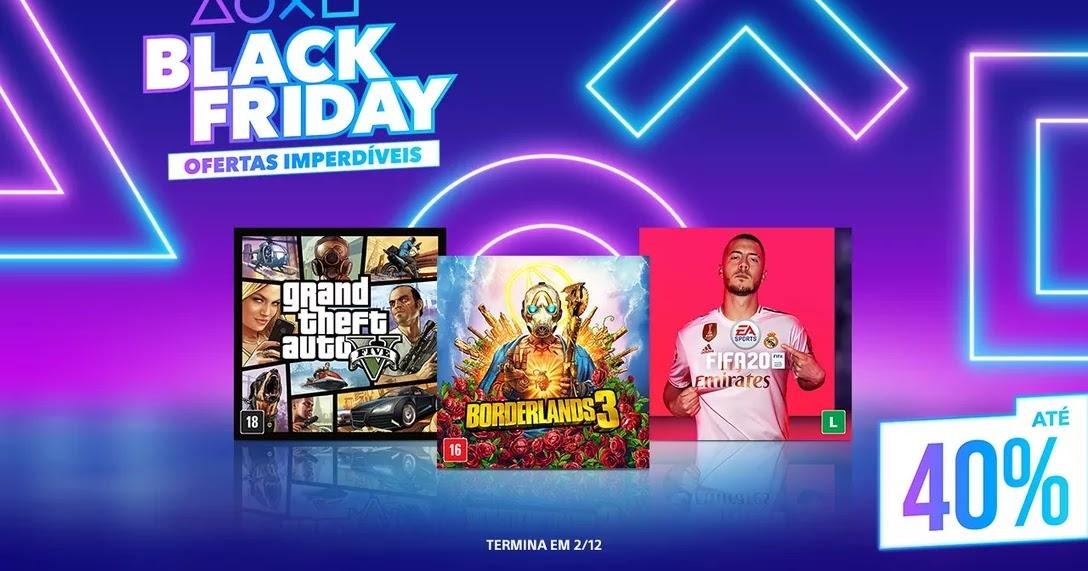 Confira as ofertas de Black Friday da PlayStation Store - GameBlast
