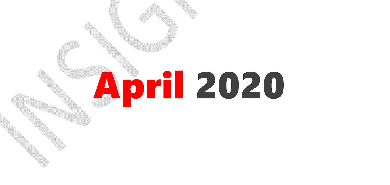 InsightsIAS Compilations RTM Prelims April 2020
