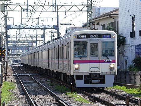 【ダイヤ改正で復活!】快速 京王八王子行き7000系