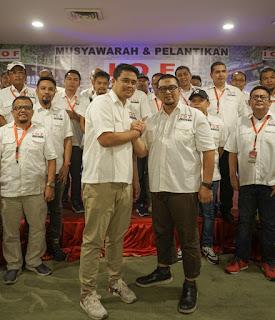 Bobby Nasution Dilantik Jadi Pembina IOF Medan