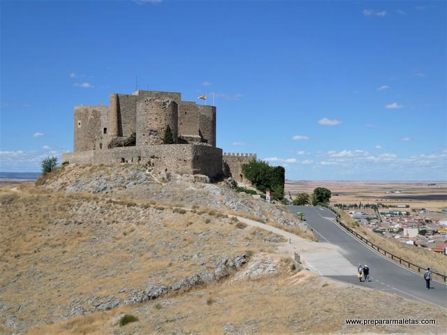 visitar el castillo de Consuegra Toledo