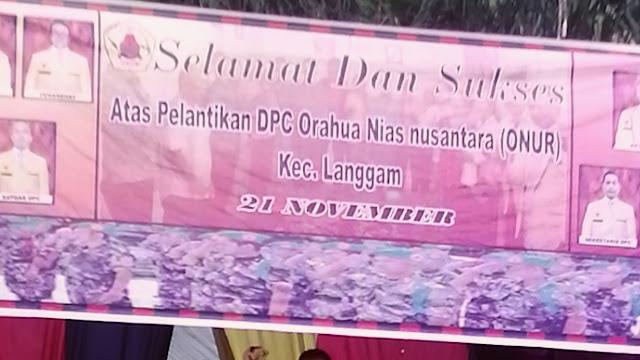 DPC Onur Kecamatan Langgam Resmi Dikukuhkan