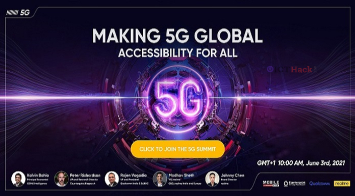 Realme Global 5G Summit: Realme will host the 5G Summit with Qualcomm