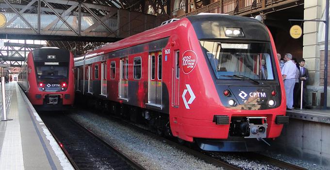 Chuva afeta circulação de trens da Linha-7 Rubi da CPTM na tarde desta terça-feira (5)