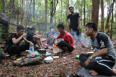 Kayu Habang, Sungai Habang, Gunung Hauk 1325 Mdpl