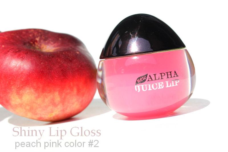 Отзыв: Персиковый блеск для губ с эффектом влажных губ - Peach Pink Color Shiny Lip Gloss #2.