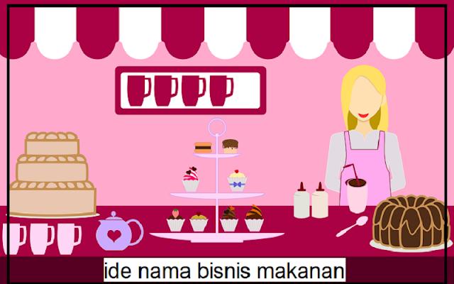 contoh ide nama bisnis makanan