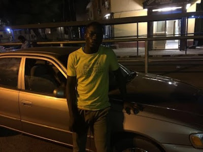 driver steals madam car