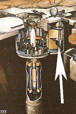 hầm chứa tên lửa hạt nhân