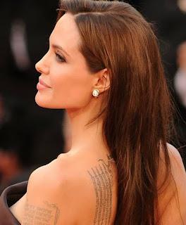 Angelina Jolie, en alfombra roja.