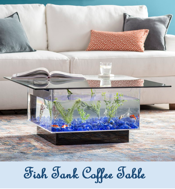 Simple Interior Concepts Fish Tank Coffee Table Aquarium Furniture